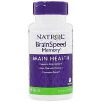 Natrol Brain Speed Memory 60 tabs