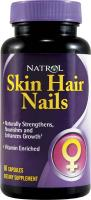Natrol Skin Hair Nails Women`s 60 caps
